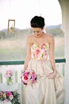 one of a kind gowns by jennifer gifford // dress: Paige