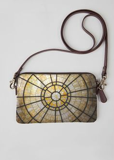 VIDA Leather Statement Clutch - Tranquility - Lily Pads by VIDA 1vPHD73