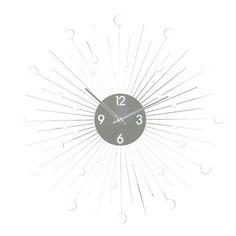 Starburst Mirror Wall Clock