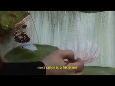 """Ζωγραφίζουμε """"νούφαρα μέσα στη λίμνη"""", μάθημα 6ο... - YouTube Little Red, Pets, Youtube, Animals, Color, Animales, Animaux, Colour, Animal"""
