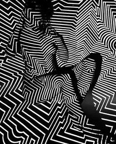 "CURVES courtesy of zigs & zags. via @alexeywind  ""Black Widow"" by #AlexeyWind #subfoldr"