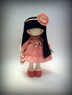 Человечки ручной работы. Ярмарка Мастеров - ручная работа Кукла Сладкоежка Ляля ....... Handmade. ♡