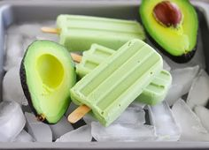 Avocado Coconut Ice Pops   Kirbie's Cravings   A San Diego food blog
