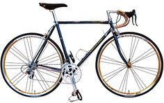 Japan is steel frame racer heaven! This Cherubim R-2 is around $4000 with Shimano Ultegra Groupset. The company have made bikes suitable for the Olympic Games. It can sometimes make Italian racers seems over-rated