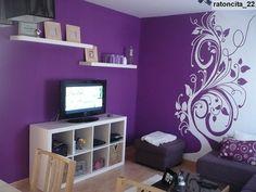 dormitorios de color violeta | inspiración de diseño de interiores
