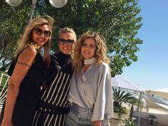 Elisabetta Pellini, Giorgia Marin and Marina Di Guardo at the 72nd Venice Film Festival