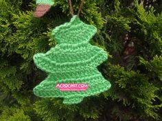 Pinito para Arbol – Video Tutorial | Blog a Crochet – ACrochet – Tejidos y Patrones Gratis