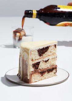 cocktail cakes white russian via@kingarthurflour