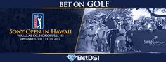 The Sony Open in Hawaii used to be the first full-field event of the PGA Tour season but with the new wraparound schedule it is now just another event in January. Golf Events, Golf Betting, Golf Pga, Tennis Tournaments, Sony, Hawaii, Tours, Hawaiian Islands