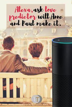 Love Predictor - www.theteelieblog.com Alexa would be your best love adviser. #alexaskills