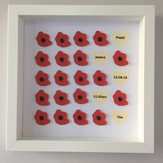 Image of Poppies - sq. Something Beautiful, Framed Artwork, Poppies, Messages, Create, Classic, Floral, Flowers, How To Make