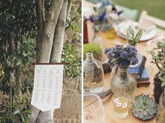 Fotos detalles mesas y decoración fotografía de bodas: www.tresdeseosymedio.com