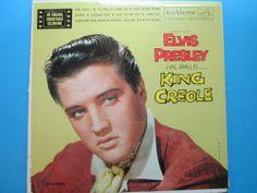 Elvis Presley KING CREOLE  LP lpm1884 MGM movie soundtrack Elvis  #RocknRoll