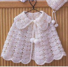 Sweet Nothings Crochet: AMAIRA's SHELLED PONCHO