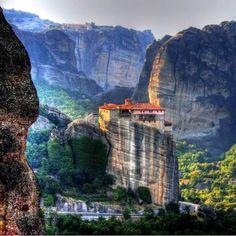 Monastère des Météore, Grèce
