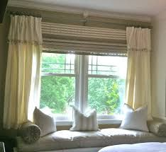 Image Result For Double Window Curtain Ideas Window Seat