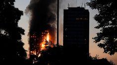 24 Stockwerke gehen in Flammen auf: Mindestens zwölf Menschen sterben bei Hochhausbrand in London