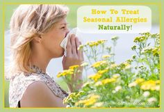 How To Treat Seasonal Allergies Naturally - Little House on the Valley