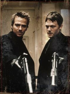 Conner + Murphy MacManus......Boondock Saints Sean Patrick Flanery, Saints Days, Movies Worth Watching, Film Music Books, Movie Characters, Good Movies, Awesome Movies, Man Movies, Epic Movie