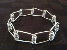 Clothespin bracelet.