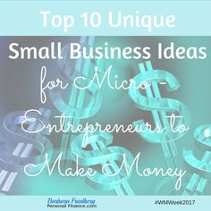 Top 10 Unique Small Business Ideas for Micro-Entrepreneurs to Make Money