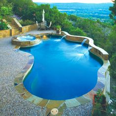 Small Pools for Small Backyards   Concepts by Pete Ordaz   Custom Swimming Pool Design, Builder