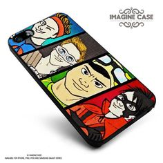 5SOS Superheroes case cover for iphone, ipod, ipad and galaxy series