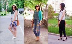 Poarta cu Stil Geanta #Irene Fashion Bloggers, Capri Pants, Kimono Top, Tops, Women, Capri Pants Outfits, Capri Trousers, Shell Tops