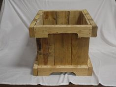 reclaimed pallet planter by NewPurposesGallery on Etsy