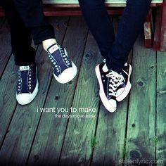 "by stolenlyric.com // lyrics : ""If I Wanted Someone"" by Dawes"
