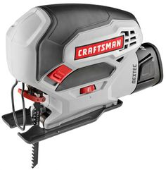 A new cordless 12-volt jig saw from Craftsman!