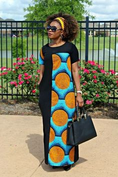 Beautiful Plain And Patterned Ankara Designs 2018 Beautiful Plain And Patterned Ankara Designs 2018 We have the best collection of the most Beautiful Plain And Patterned Ankara Designs . Long African Dresses, Latest African Fashion Dresses, African Print Dresses, African Print Fashion, Africa Fashion, Ankara Fashion, African Dress Patterns, African American Fashion, African Style