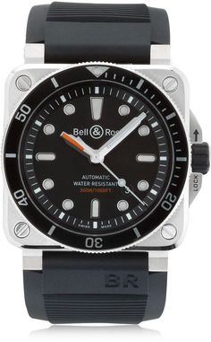 Bell & Ross Diver 300m Steel Automatic Watch Rolex Watches, Watches For Men, Bell Ross, Skeleton Watches, Watch Case, Automatic Watch, Steel, Animal Kingdom, Shopping