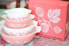 Pink Vintage Pyrex