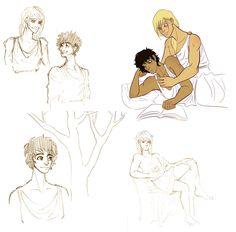 Crying like a girl since 700 BC — sketchdump!