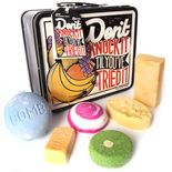Introduce all your friends to LUSH with this lunchbox tin full of tropical treats and naked LUSH inv...