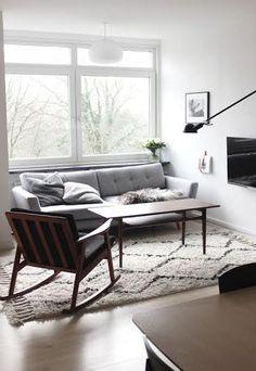Construindo Minha Casa Clean: Decoração Escandinava - Apartamento Monocromático Lindo!