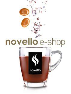 NOVELLO (e-shop) Chocolate Recipes For Kids, Biscotti, Kids Meals, Sweets, Cookies, Mugs, Tableware, Cupcake, Shopping