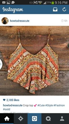 Autumnal Equinox Crop Top, Nectar Clothing Would look awesome with high waisted bells ! Looks Style, Style Me, Summer Outfits, Cute Outfits, Half Shirts, Rocker, Outfit Trends, Hippie Man, Hippie Bohemian