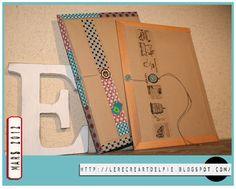 DIY : recycler une enveloppe cartonnée Lil' en pochette de rangement
