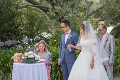 Overlooking the water and surrounded by trees, M&K were married in a calm Sunday morning ceremony, witnessed by friends and family. Tie The Knots, Love People, Sunday Morning, Auckland, Family Photo, Celebrity Weddings, Big Day, Lonely, How To Memorize Things