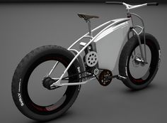 "Luna Cycles ""Fat Bike"" 2012 with a powerful Astro-Flight mid drive motor - ebike"