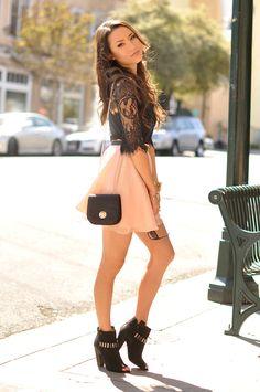 Hapa Time - a California fashion blog by Jessica - new fashion style - 2014 fashion trends: The Feminine Edge