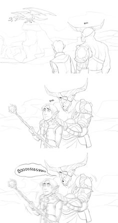 How Iron Bull persuades the Inquisitor.