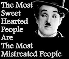 Charlie Chaplin quote.