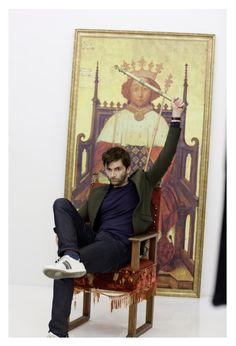 Richard II photo shoot photo via RSC app