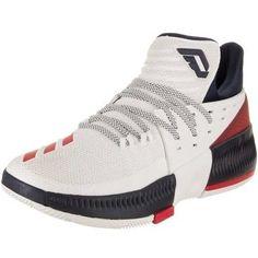 buy online f2143 7b77e New ADIDAS DAME 3 Damian Lillard Basketball shoe BB8268 White Red Black  Men s 13