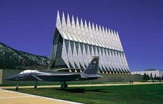 Take a tour of the Air Force Academy in Colorado Springs, CO