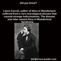 I want Alice in Wonderland Syndrome because that would be awesome but I would probably hate it if I actually had it