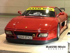 Ferrari 348, Rauh Welt, Osaka, Japan, Vehicles, Automobile, Car, Japanese, Vehicle